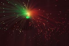 Holiday disco bokeh background Royalty Free Stock Image