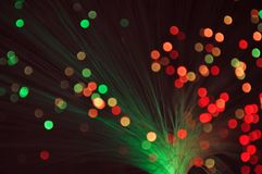 Holiday disco bokeh background Stock Photos