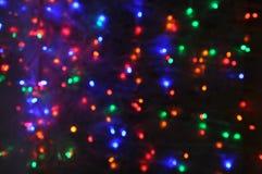 Holiday disco bokeh background Stock Photo