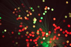 Holiday disco bokeh background Royalty Free Stock Images