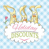 Holiday discounts Royalty Free Stock Photography