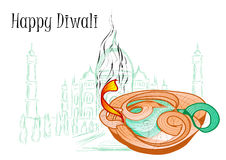 Holiday of diwali Royalty Free Stock Photo