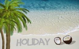 Holiday dreams Royalty Free Stock Image
