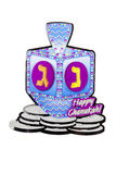 Holiday Dreidel Royalty Free Stock Image