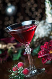 Holiday Drink Background Stock Image
