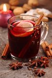 Holiday drink Royalty Free Stock Image