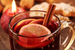 Holiday drink Royalty Free Stock Photo