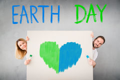 Holiday Earth day and interior renovation concept Stock Photography