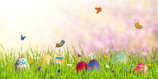 Holiday Easter Background Royalty Free Stock Photography
