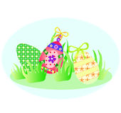 holiday Easter eggs Royalty Free Stock Photography