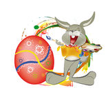 Holiday easter.Happy Hair vector illustration