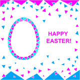 Holiday Easter  pattern. Royalty Free Stock Photo