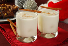 Holiday Eggnog Stock Images