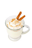 Holiday Eggnog with Path Stock Photography