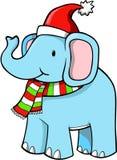 Holiday Elephant Vector Stock Photo