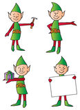 Holiday Elves Stock Photography