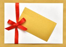 Holiday envelop Royalty Free Stock Photography