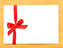 Holiday envelope Stock Photography