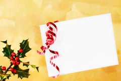 Holiday envelope Stock Photos