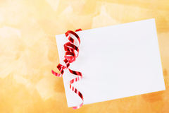 Holiday envelope on large background Royalty Free Stock Photos