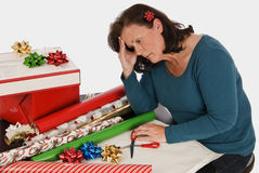 Holiday Fatigue Royalty Free Stock Photography