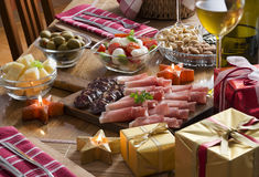Holiday feast Royalty Free Stock Image