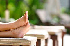Holiday Feet Stock Images