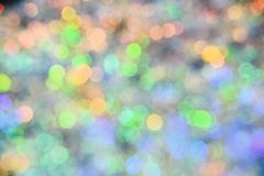 Holiday festival backdrop with sparkling lights. Defocused and abstract colourful bokeh with night light. Background of. Colorful bulb lights. Christmas stock photos