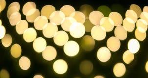 Holiday festive bokeh. Celebration Abstract of background Royalty Free Stock Photo
