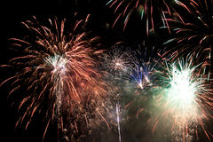 Holiday firework. Stock Photography