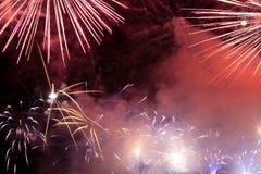 Holiday firework. Royalty Free Stock Photo