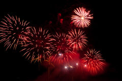 Holiday firework. Royalty Free Stock Photos
