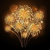 Holiday firework. Independence day Stock Photo