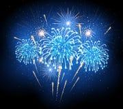 Holiday firework. Independence day Stock Photos