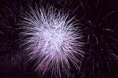 Holiday fireworks background Royalty Free Stock Photography