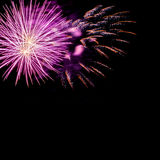 Holiday fireworks Royalty Free Stock Photo