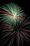 Holiday Fireworks Celebration Royalty Free Stock Image