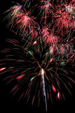 Holiday Fireworks Celebration Display Royalty Free Stock Photos