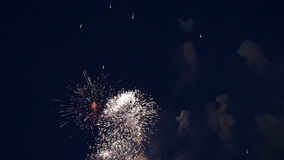 Holiday fireworks with sound Royalty Free Stock Images