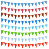Holiday flags Royalty Free Stock Image