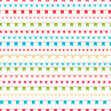 Holiday flags Royalty Free Stock Images