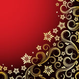 Holiday floral background. Illustration for your design Stock Images