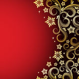 Holiday floral background. Vector illustration for your design Stock Photos