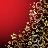 Holiday floral background. Vector illustration for your design Stock Images