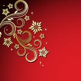 Holiday floral background.. Vector illustration for your design Royalty Free Stock Photos