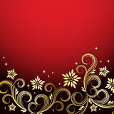 Holiday floral background.. Vector illustration for your design Stock Image