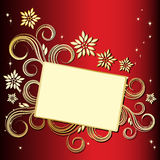Holiday floral background. An illustration for your design project Royalty Free Stock Photos