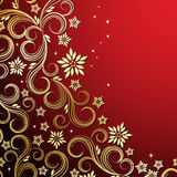 Holiday floral background. An illustration for your design project Royalty Free Stock Images