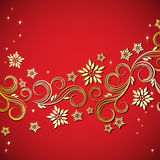Holiday floral background. An illustration for your design project Stock Photo