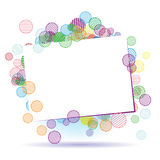 Holiday frame beautiful with place for your text Royalty Free Stock Photo